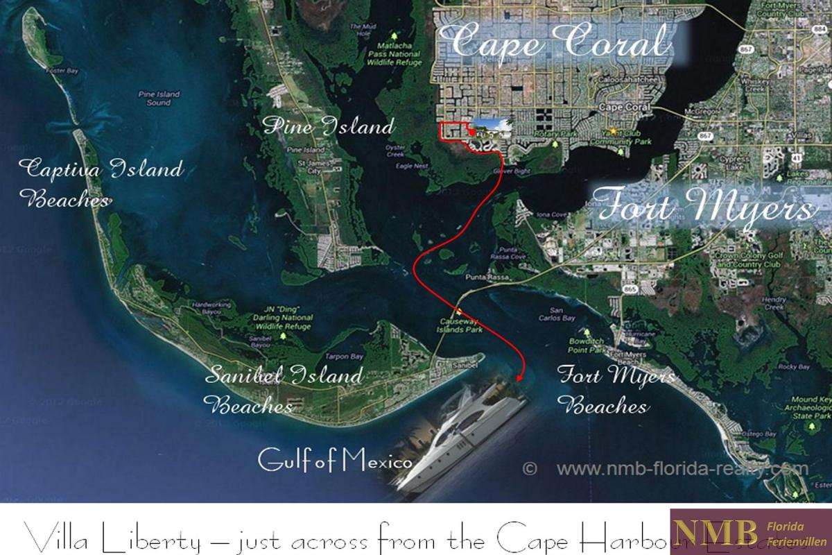 Ferienhaus_Cape_Coral_Liberty_map