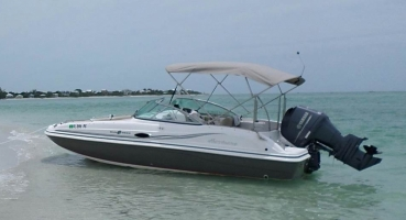 22 ft Hurrican Sundeck SD 217